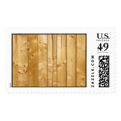 Sellos de madera de pino