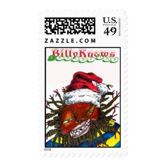 sellos de Navidad del billyKnowsMedia