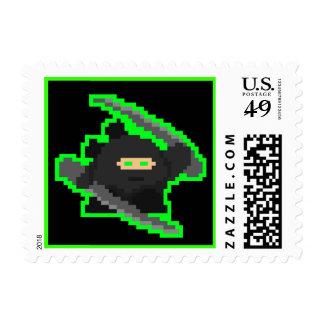 Sellos de Ninja del pixel