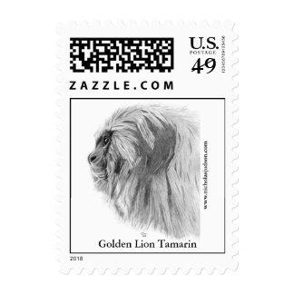 Sellos de oro del Tamarin del león