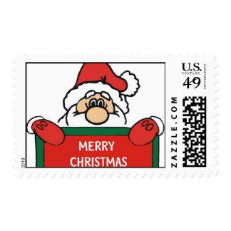 Sellos de Santa de las Felices Navidad