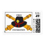 Sellos de USPS de la fundación de los fuegos