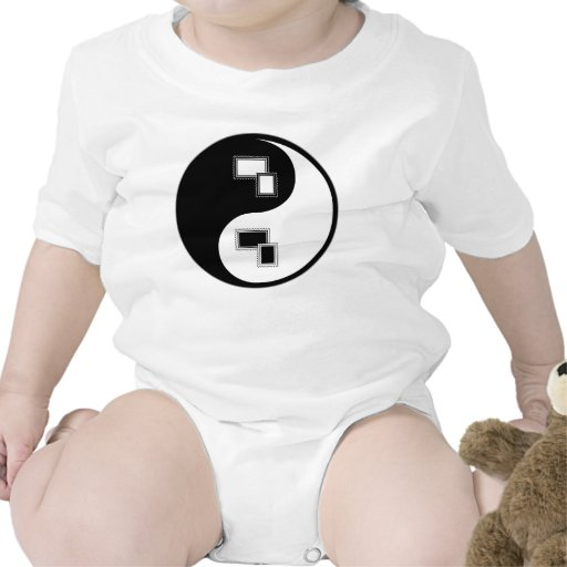 Sellos de Yin Yang Trajes De Bebé