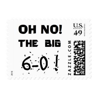 """sellos del """"60.o cumpleaños"""""""