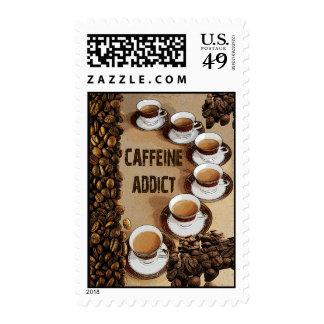 Sellos del adicto a cafeína