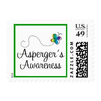Sellos del autismo de la conciencia de Asperger
