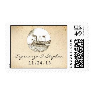 sellos del barco de cruceros