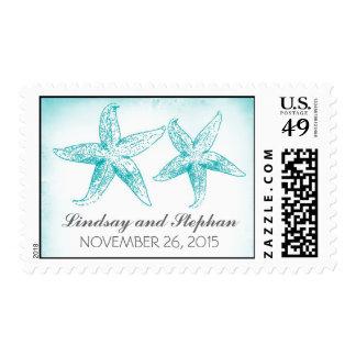 sellos del boda de los pares de las estrellas de m