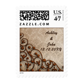 sellos del boda del vintage
