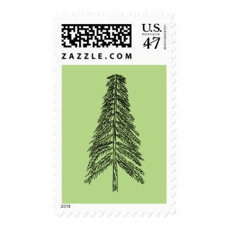 Sellos del bosquejo del árbol