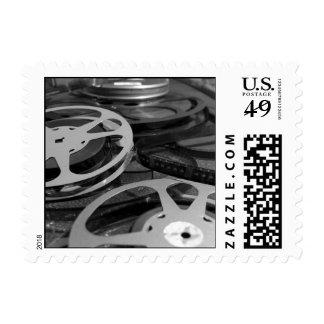 Sellos del carrete de la película y de la película