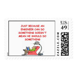 sellos del chiste de la ingeniería del ingeniero