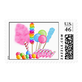 Sellos del circo del caramelo