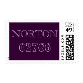 Sellos del código postal de Norton