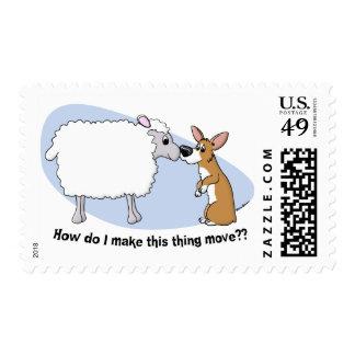 Sellos del Corgi y de las ovejas
