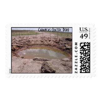 sellos del cráter 3 de Perú de los carancs
