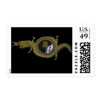 ¡sellos del dragón de vuelo! envio