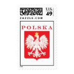 Sellos del escudo de Polska Eagle