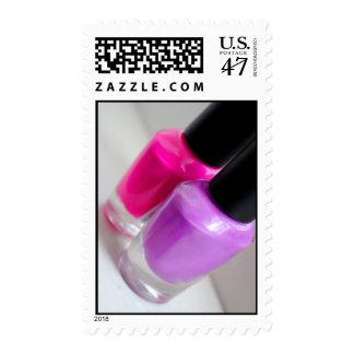 Sellos del esmalte de uñas