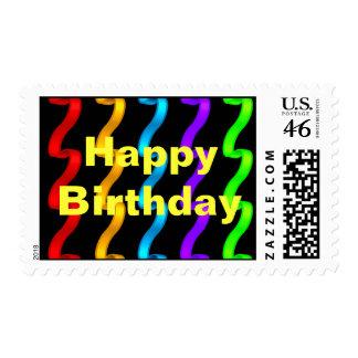 Sellos del feliz cumpleaños