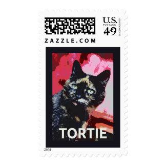 Sellos del gato de la concha de Tortie