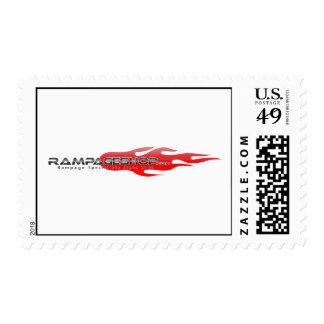 sellos del logotipo de RampageShop.com