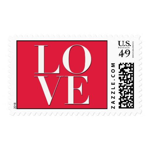Sellos del logotipo del amor