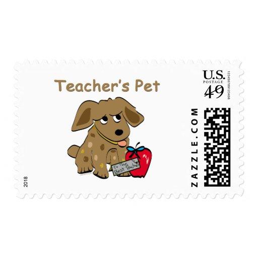 Sellos del mascota del profesor