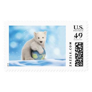 Sellos del mundo del oso polar