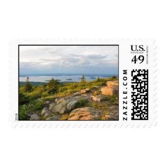 Sellos del parque nacional del Acadia de la montañ