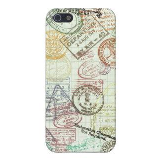 Sellos del pasaporte iPhone 5 funda