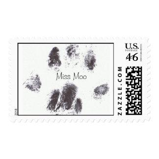 Sellos del pawprint de Srta. Moo