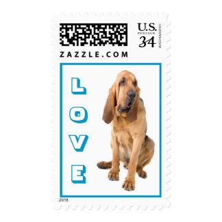 Sellos del perro de perrito del sabueso del amor