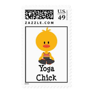 Sellos del polluelo de la yoga