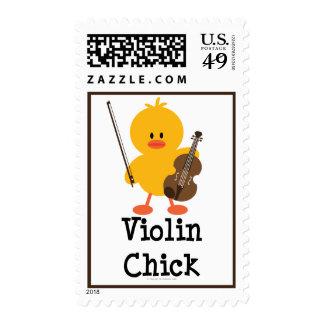 Sellos del polluelo del violín