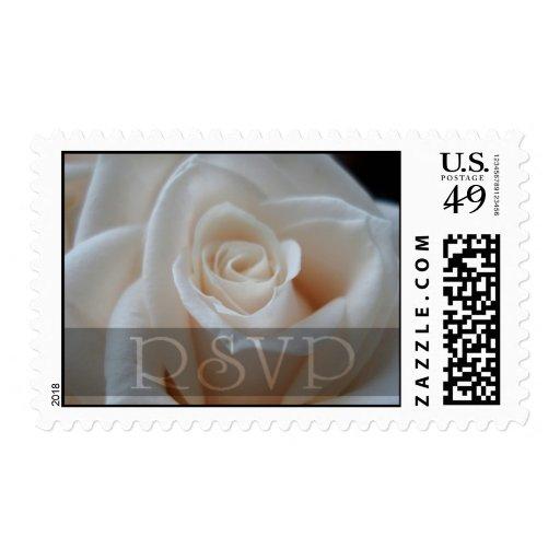 Sellos del rosa de RSVP