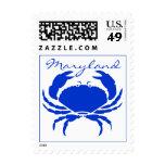 SELLOS del sello de los cangrejos azules de Maryla