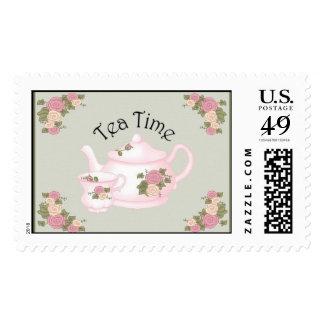 Sellos del tiempo del té