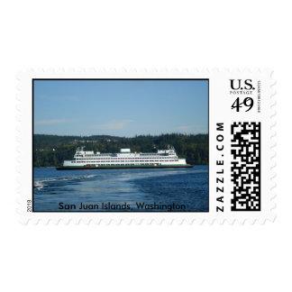 Sellos del transbordador de las islas de San Juan