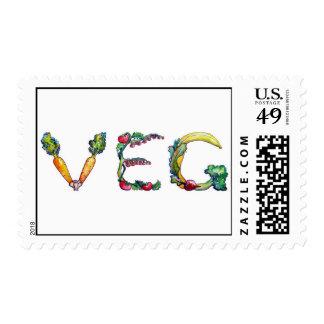Sellos del vegetariano y del vegano
