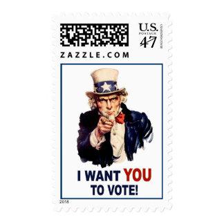 Sellos del voto del tío Sam