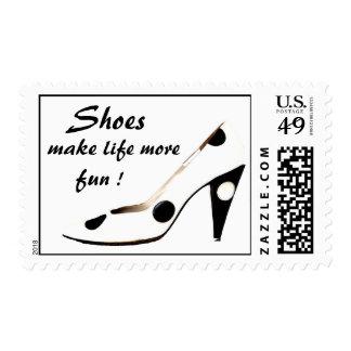 ¡Sellos del zapato para las mujeres que aman los z