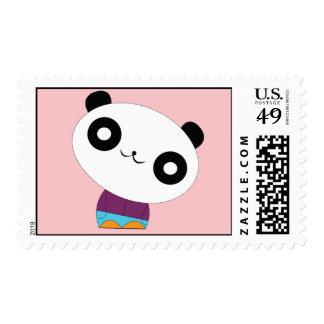 Sellos desapasibles reales de la panda del kawaii