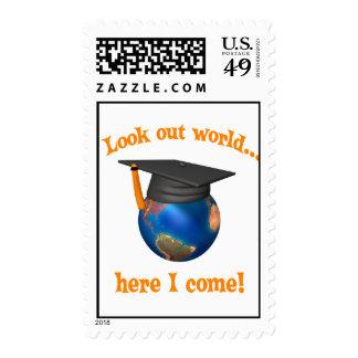 Sellos divertidos de la graduación