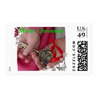 Sellos dominantes de Santas del navidad