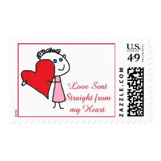 Sellos enviados amor