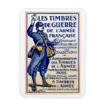 Sellos franceses de la guerra de WWI Imán