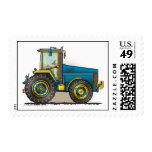 Sellos grandes azules del tractor