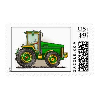 Sellos grandes verdes del tractor