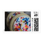 Sellos helados de la galleta de azúcar